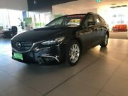 2017 Mazda 6 GL1031 Touring SKYACTIV-Drive Black 6 Speed Sports Automatic Wagon Gungahlin Gungahlin Area Preview