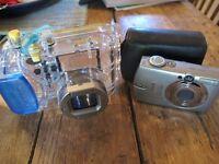 CANON Digital Ixus 700 Camera Underwater Waterproof Housing