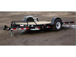 brand new PJ 7K single axle Tilt Deck