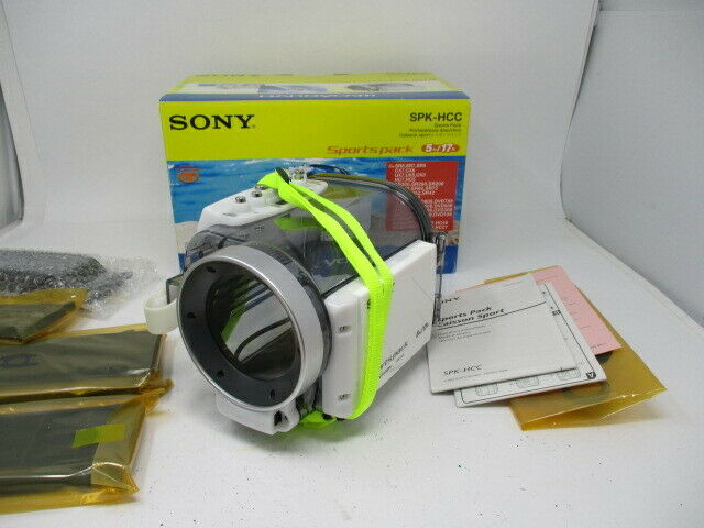 Sony SPK-HCC Handycam/Camcorder Marine Sports Pack Waterproof Housing - 5m/17ft