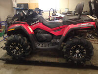 2012 Can Am Outlander Max xt $1000 off this weekend only!!