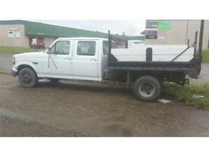 1994 1 ton ford dually dump truck with 7.3 diesel