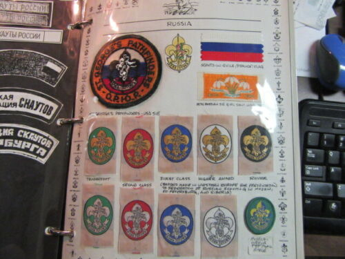 Russia Lot of 22 Boy Scout Patches    c27
