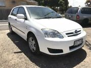 2006 Toyota Corolla ZZE122R Ascent Seca White 4 Speed Automatic Hatchback South Geelong Geelong City Preview