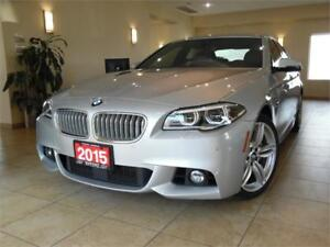 2015 BMW 5 Series 550i xDrive M Sport PKG+Technology PKG!