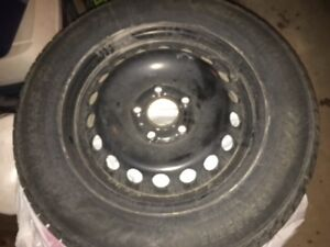 4 Dynamo Winter Tires and Rims - Used only 1 light season