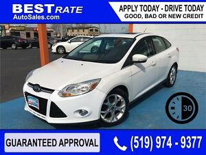 FORD FOCUS SEL - APPROVED IN 30 MINUTES! - ANY CREDIT LOANS