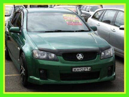 2010 Holden Commodore VE II SV6 Green 6 Speed Sports Automatic Sedan Minchinbury Blacktown Area Preview