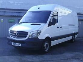 Mercedes-Benz Sprinter 3.5T High Roof Van DIESEL MANUAL WHITE (2017)