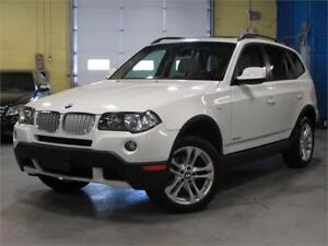 2010 BMW X3 xDrive30i /PANO ROOF/ ACCIDENT FREE/LOW KM