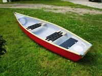 Brand New 2 seater Flat Back Canoe Made in EU, 2 year warranty Kayak Boat