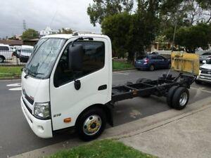 2012 Hino 300 XZU710R 616 Auto MWB White Cab Chassis 4.0l 4x2 Homebush West Strathfield Area Preview