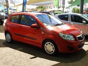 2009 Holden Barina TK MY09 Red 4 Speed Automatic Hatchback Mount Druitt Blacktown Area Preview