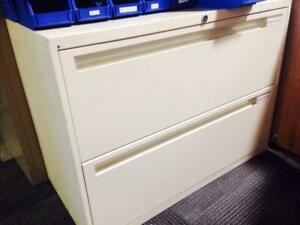 Steelcase filing cabinets / Lateral filing cabinets