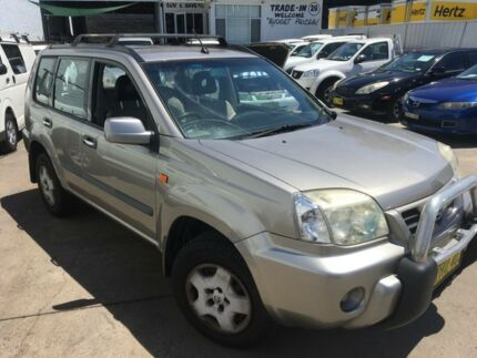 2002 Nissan X-Trail T30 ST (4x4) Gold 4 Speed Automatic Wagon Lidcombe Auburn Area Preview