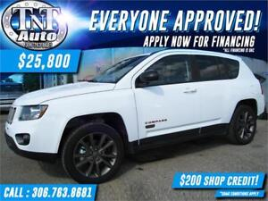 2016 Jeep Compass Sport 4X4 LEATHER-POWER SUNROOF-BACK UP CAM
