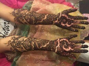 Best Professional Henna Artist in Barrhaven Ottawa