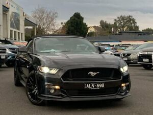 2016 Ford Mustang FM 2017MY GT SelectShift Black 6 Speed Sports Automatic Convertible Frankston Frankston Area Preview