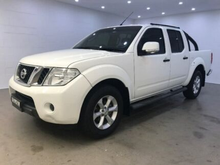 2013 Nissan Navara D40 S6 MY12 ST 4x2 White 6 Speed Manual Utility Blacktown Blacktown Area Preview
