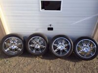 """22"""" wheels and tires"""