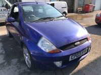 Cheap car of the day 2003 Ford KA sport, starts and drives, 57,000 miles, car located in Gravesend K