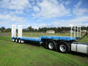 NEW  NEW DROP DECK TRAILER 45 FOOT WITH RAMPS Pickering Brook Kalamunda Area Preview