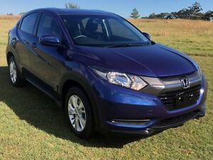 2015 Honda HR-V MY15 VTi Blue 1 Speed Constant Variable Hatchback Stapylton Gold Coast North Preview