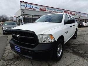 2014 Ram 1500 ST 4X4 CREW CAB BLUETOOTH ONE OWNER NO ACCIDENTS
