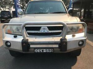 2006 Mitsubishi Pajero NP Exceed Gold Sports Automatic Wagon