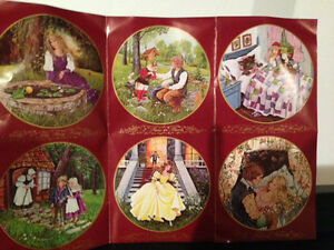 Classic Fairy Tales Kaiser Collector Plates - Complete Set of 6!