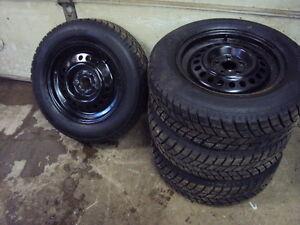 Hankook I-Pike snow tires and rims Kitchener / Waterloo Kitchener Area image 2