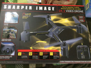 "Sharper Image DX-3 14.4"" Large Drone with Camera $45"