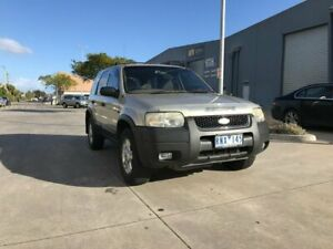 2001 Ford Escape BA XLT Gold 4 Speed Automatic Wagon Newport Hobsons Bay Area Preview