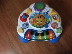 Music Toy with which your child can learn musical instruments