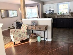 $2100, South Side. Beautiful renovated top stories of a home