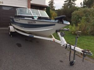 New Price**Legend Sport Fish 17.5' 90 HP Boat AS IS