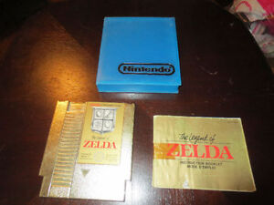Legends of Zelda with book and hard protective case $40