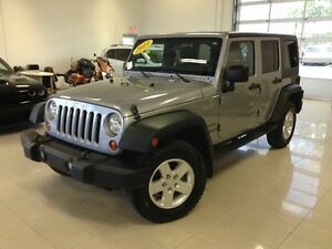 2013 Jeep Wrangler Unlimited Sport,Auto,4x4,Fog,Hitch,A/C