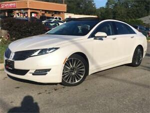2015 Lincoln MKZ 3.7L AWD-HEATED-PANO-NAVI-BACK UP-NO ACCIDENTS