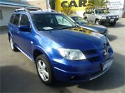 2006 Mitsubishi Outlander ZF VR Blue Sports Automatic Wagon Wangara Wanneroo Area Preview