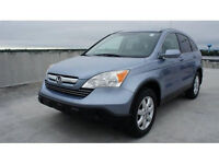 2007 Honda CR-V EX-L-LEATHER-SUNROOF-AWD--ONLY ONE OWNER