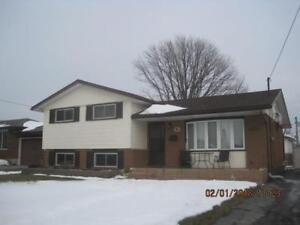 Welland upper unit in house for rent - great location!