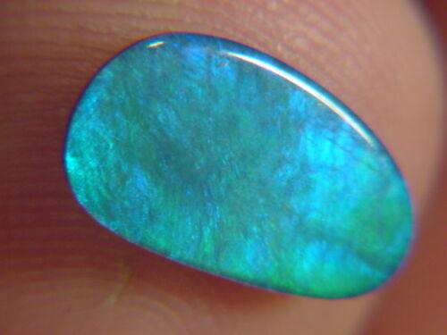 BUTW natural genuine australian opal triplet free form  cabachon   9945B