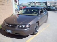 2002 Chevy Impala with 105000k