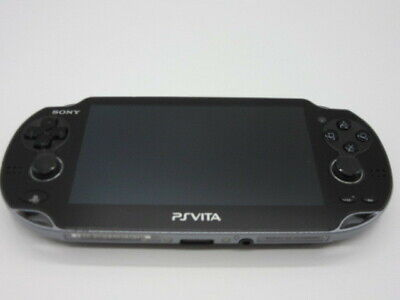 PS VITA PCH-1100 3G wifi model crystal black Console only Sony PlayStation works for sale  Shipping to Nigeria