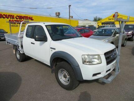 2008 Ford Ranger XL Hi-Rider White 5 Speed Manual Cab Chassis Morphett Vale Morphett Vale Area Preview