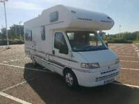 FIAT DUCATO 610 SWIFT ROYAL DESIGN  SE , 5/6 BIRTH, GREAT CONDITION INSIDE AND OUT