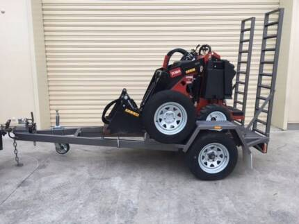 TORO W323 Wheeled Compact Utility Loader Trailer Package