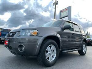 2006 Ford Escape LIMITED 4WD LEATHER SUNROOF ONLY 189KM