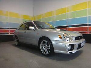 2001 Subaru Impreza MY02 WRX (AWD) Silver 5 Speed Manual Hatchback Wangara Wanneroo Area Preview